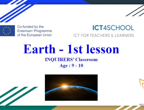 Earth – Chemical Composition (Students age 9-10)